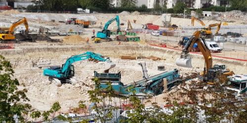 Animation des chantiers de la ZAC – août et septembre 2019