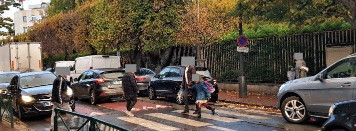 La sécurité des piétons aux abords de l'école Robespierre