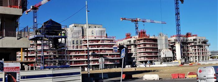 Construction des immeubles de la ZAC et émissions CO2